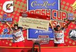 Father-son Broussard team collect $50,000 check for redfish win