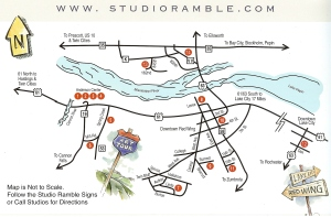 studio ramble map 2014