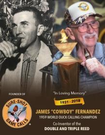 """James """"Cowboy"""" Fernandez"""