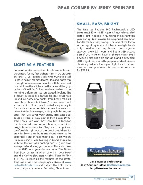 Wilderness Unltd Drifter GearCornerWinter2019-002-002